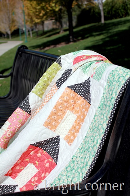 A Day at Home quilt 1