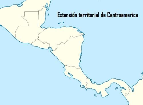 Extensión territorial de Centroamérica