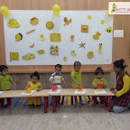 Yellow Day Celebration by Play Group Section (2018-19), Witty World, Goregaon East