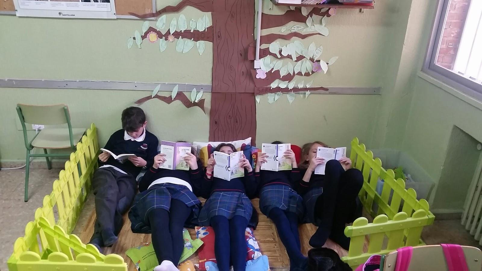 Mi aula virtual 3 0 rinc n de la lectura for El rincon de la lectura
