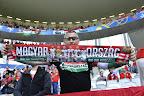 Magyar szurkolók a franciaországi labdarúgó Európa-bajnokság Ausztria - Magyarország mérkőzésén, Bordeaux 2016. június 14-én. (MTI Fotó: Illyés Tibor)