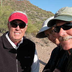 Saguaro Nat Park with Phil