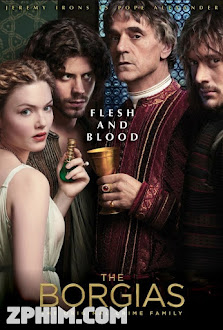 Những Tội Ác Của Gia Đình Borgias 2 - The Borgias Season 2 (2012) Poster