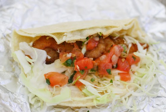 Fish and Seafood Tacos for Lent