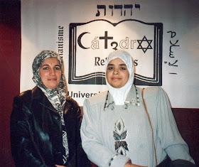 Cherifa Ben Hassine y Latifa Boumediane