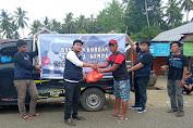 Tim Relawan KPN Sulsel Salurkan Bantuan Untuk Korban Gempa, Sertakan Tim Medis dan Obat-obatan