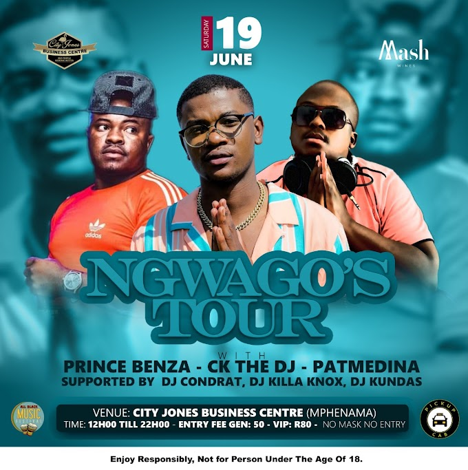 16 and 19 June - It's a party Mphenama with Prince Benza and CK from Double Trouble