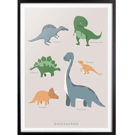 Dinosaurier affisch