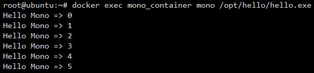 Docker Mono