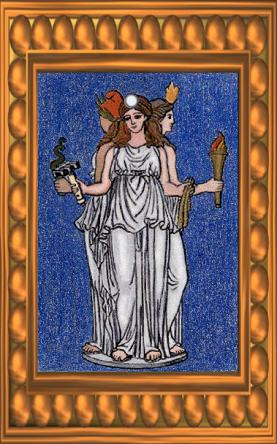 Hecate Card, Gods And Goddesses 1