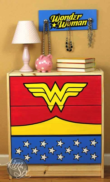 Wonder woman dressing table
