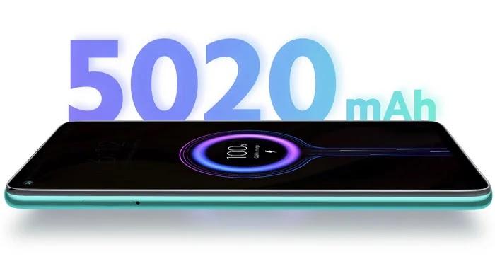 Xiaomi Redmi Note 9 Baterai dan Fitur
