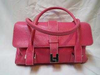 Lambertson Truex Pink Shoulder Bag