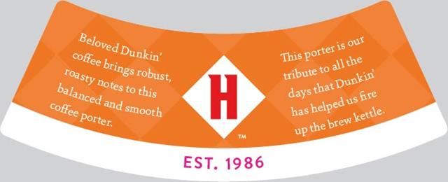 Harpoon Adding Dunkin' Coffee Porter