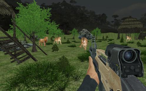 Animals Hunting Jungle: Deer Hunter - náhled