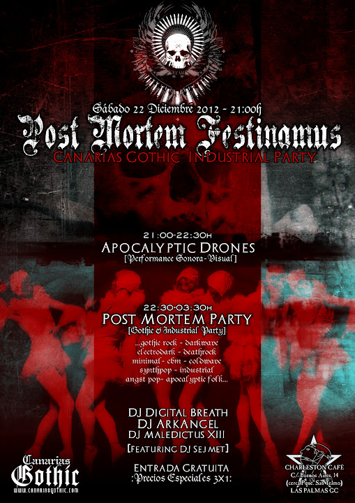 POST MORTEM FESTINAMUS - Canarias Gothic & Industrial Party MMXII POSTMORTEM%2520FESTINAMUS%2520XXX