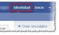 Páginas FB Identidad 2012