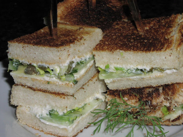 Spring Turnip Tea Sandwiches Recipe