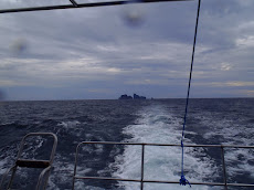 Our view of the isles of Ko Ha on our way home. A 90 minute boat ride back to Lanta.