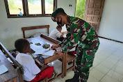 Metode Hitung Batu, Cara Efektif Satgas Yonif MR 413 Kostrad Ajarkan Siswa Papua Berhitung