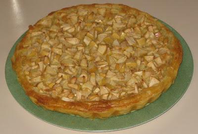 Tarte bretonne aux pommes