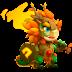 Dragón Sirvienta del Bosque   Queen Forest Servant Dragon
