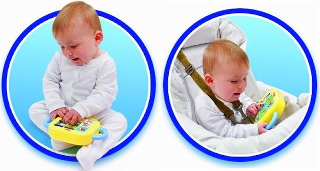 Đồ chơi phù hợp với trẻ em từ 6 đến 24 tháng tuổi