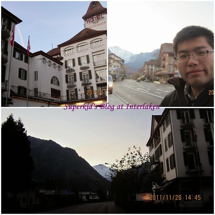 我們在Interlaken下榻的便宜旅館。