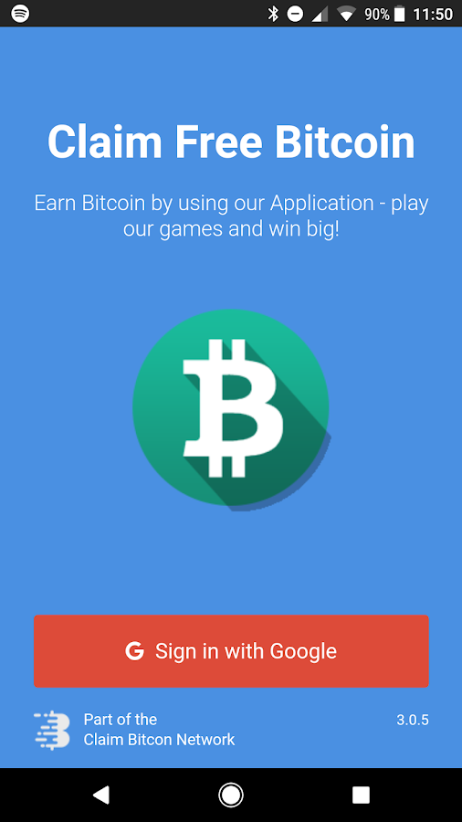 Claim Free Bitcoin- screenshot