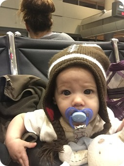 Henry at the Airpot