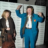 WWW.ENTSIMAGES.COM - John McCririck  arriving at  Very First To Awards  5 Cavendish Square London January 9th 2013                                                      Photo Mobis Photos/OIC 0203 174 1069