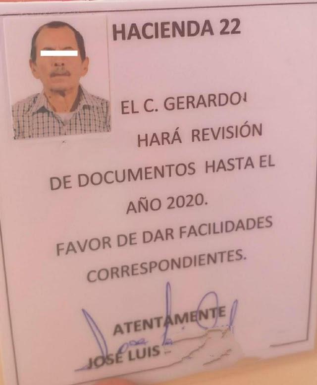 Alerta Gobierno de Huamantla sobre falso gestor que cobra impuesto predial.