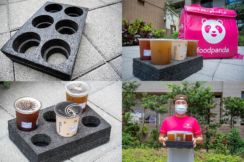 六孔杯架 foodpanda外送員 新手組合包 熊貓外送員基本裝備