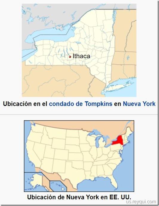 Ithaca (1790): ciudad estadounidense