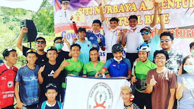 ISSI Payakumbuh Juara Umum Gowes Siti Nurbaya Adventure 2021