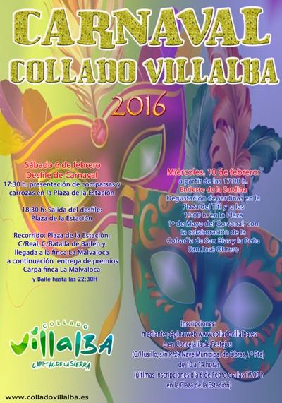 Carnaval 2016 en Collado Villalba