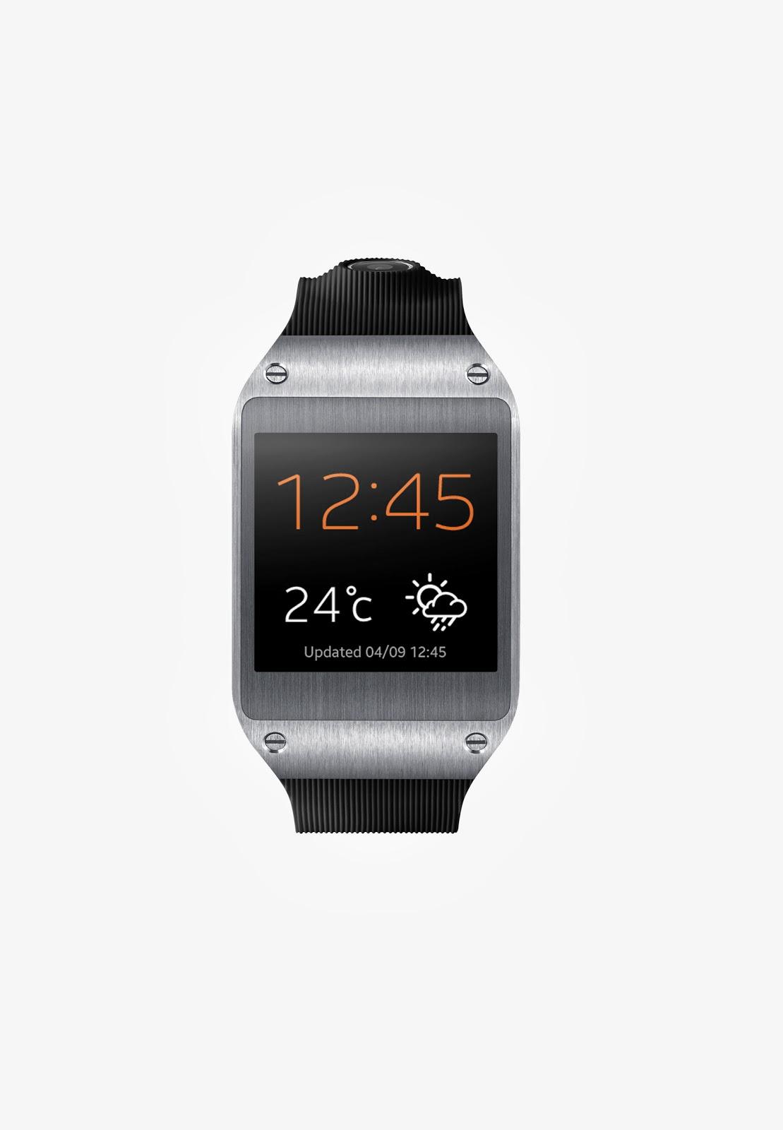 Ufficializzato il galaxy gear il primo smartwatch android for Orologio della samsung