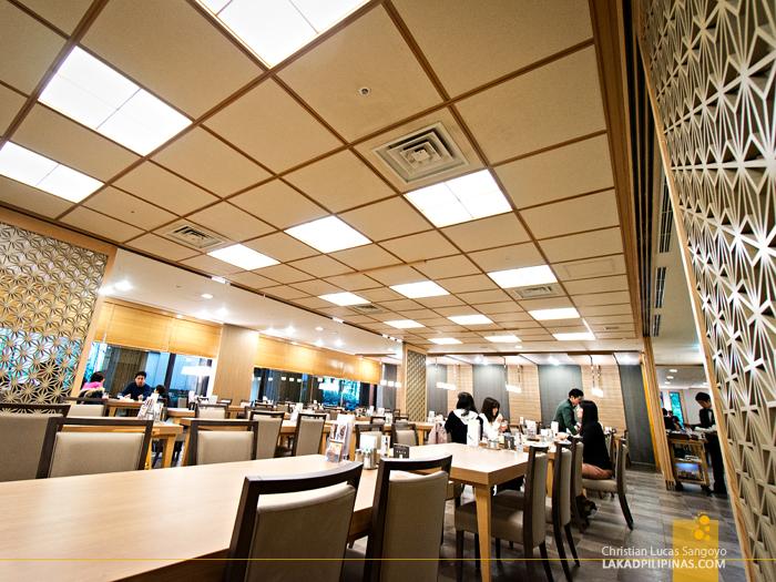 Buffet Lunch at Yumoto Fujiya Hotel in Kanagawa