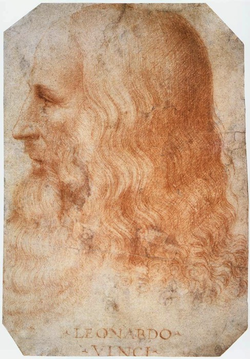 Francesco Melzi Portrait of Leonardo WGA14795