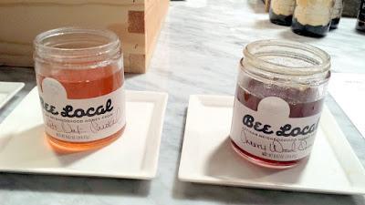 Bee Local Honey, White Oak Smoked honey and Cherry Wood Smoked honey