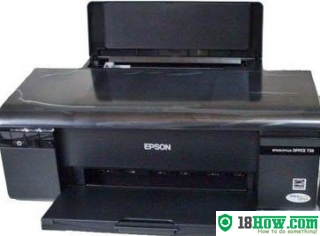 How to reset flashing lights for Epson C77 printer