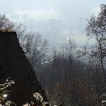 Esplanade du château : vue sur la vallée de l'Yvette