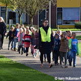 Kinderen portretteren ouderen in de Clockstede - Foto's Harry Wolterman