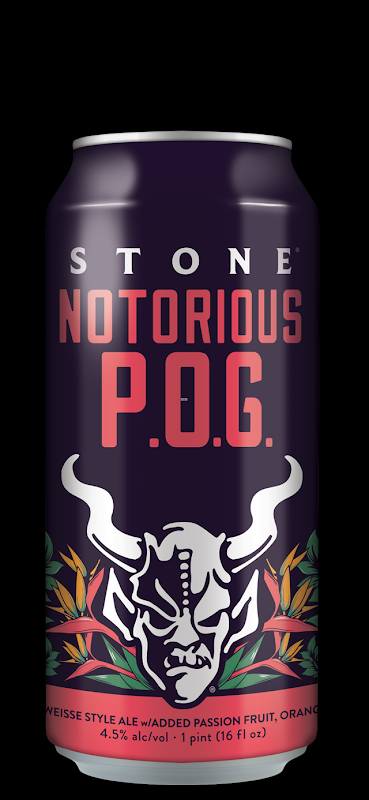 Stone Releasing Notorious P.O.G Berliner Weisse Cans