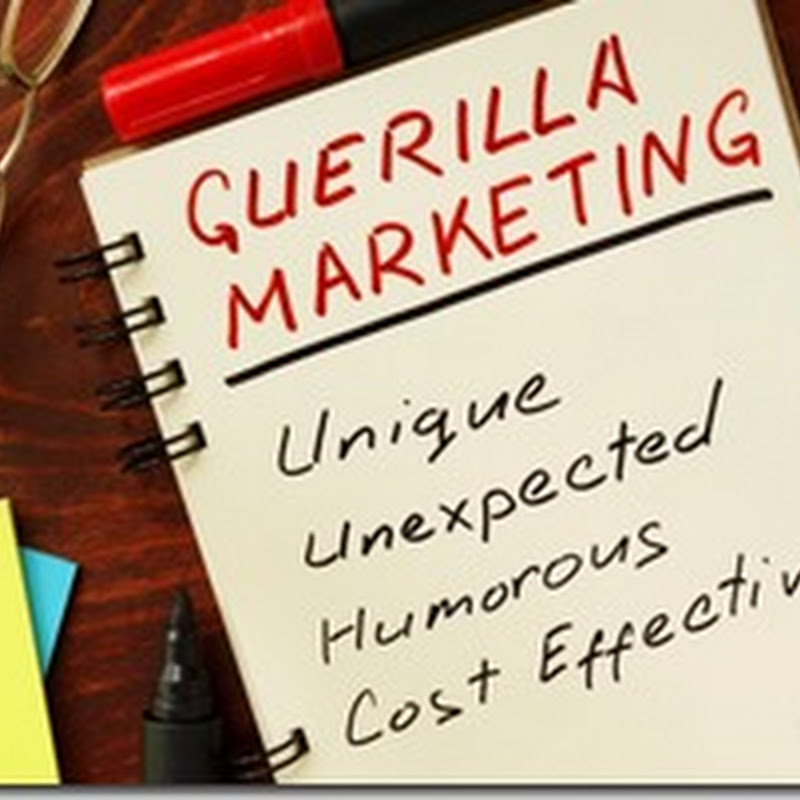 #Istilah: Guerilla Marketing