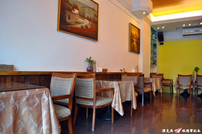 奇波拉義式料理座位空間