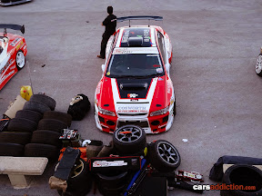 Wide bodied Subaru Impreza Drifter with an Nissan RB26 transplant