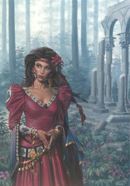 Guinev, Sorceress 1