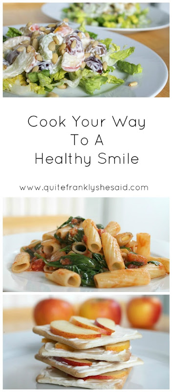 Cook your way to a healthy smile pin