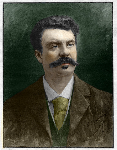Guy De Maupassant French Author 1, Guy De Maupassant